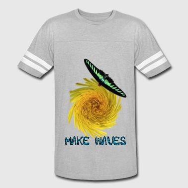 Inspirational Make Waves - Vintage Sport T-Shirt