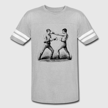 Men with Mustaches - Vintage Sport T-Shirt