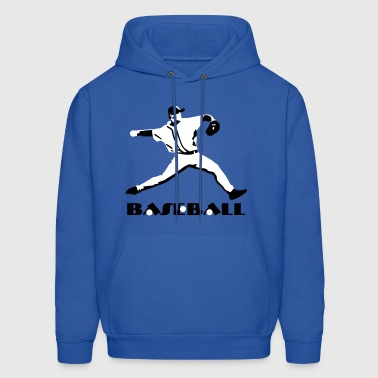 Baseball - Baseball Player - Men's Hoodie