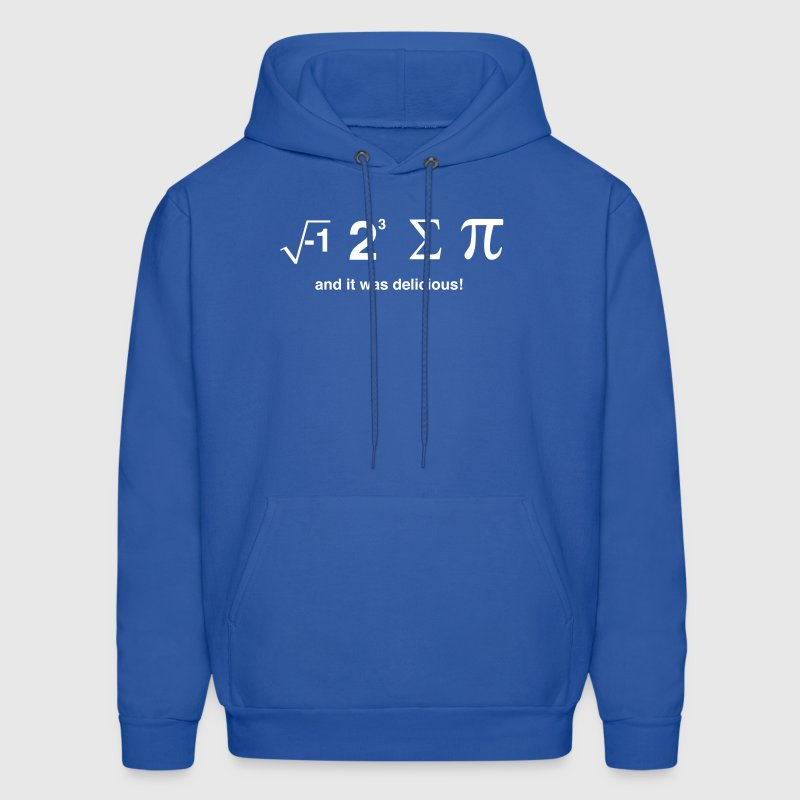 I Ate Sum Pi and it was Delicious - Men's Hoodie
