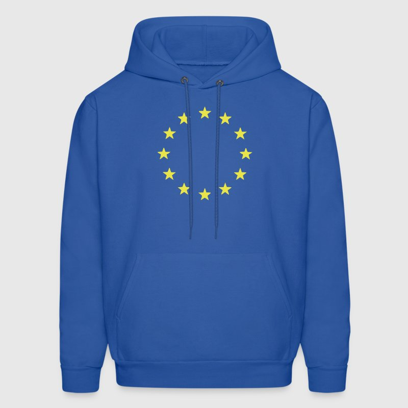 EU - European Union - Europe - Flag - Stars - Men's Hoodie