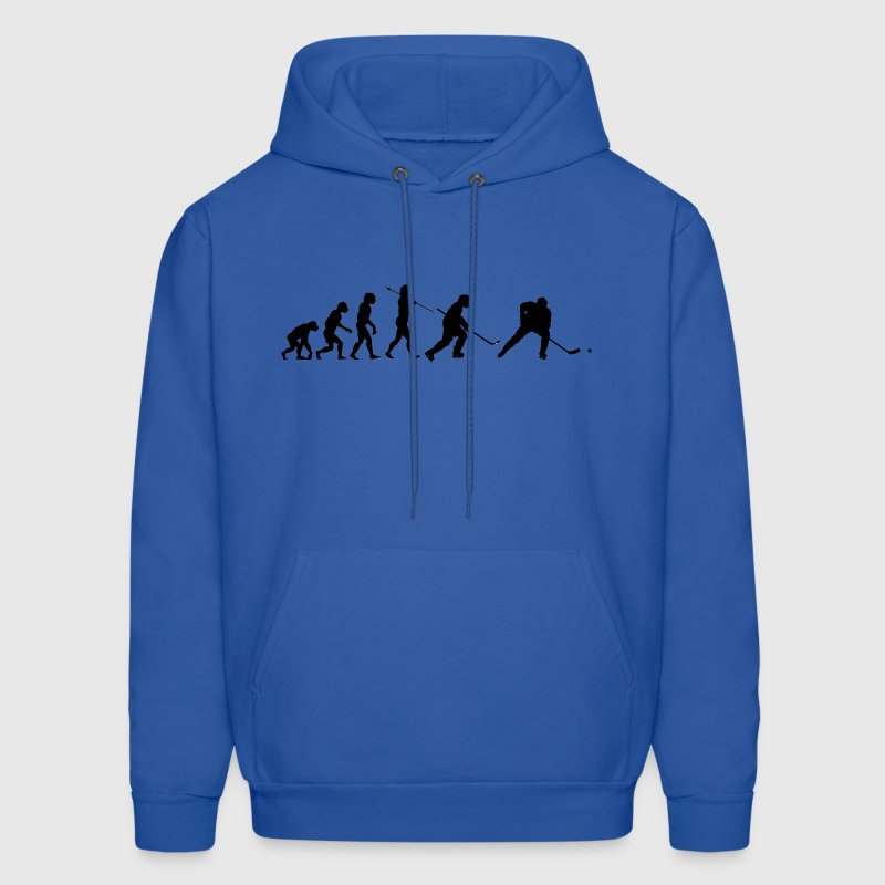 Evolution of the Hockey Player - Men's Hoodie
