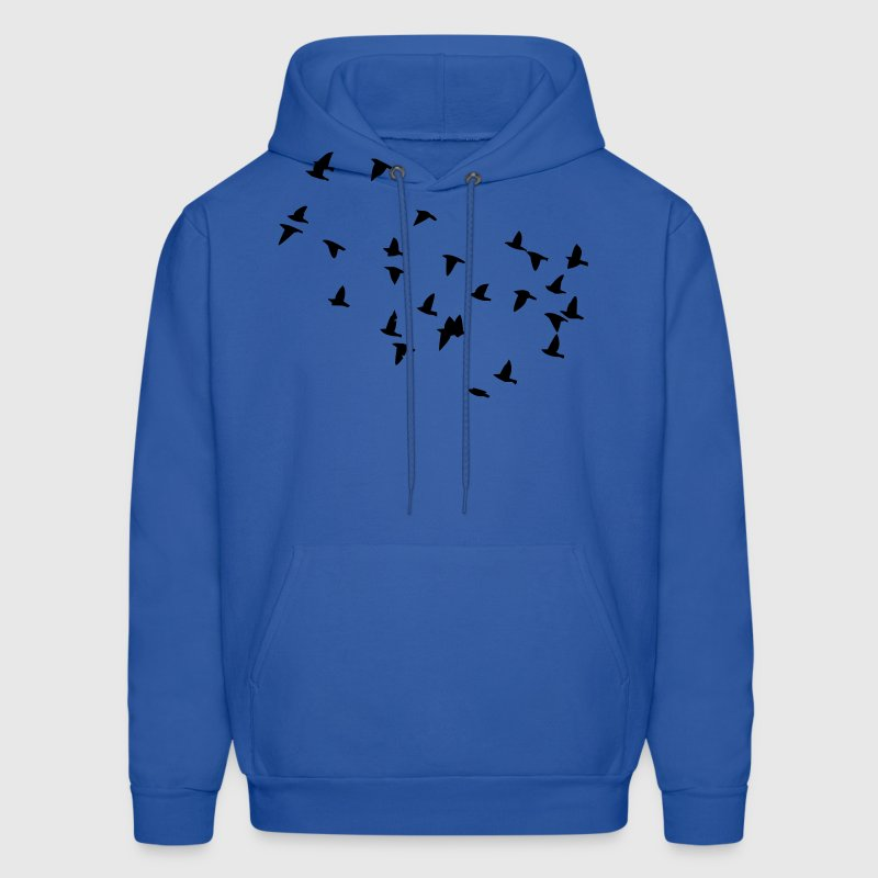 Flock of Birds - Men's Hoodie