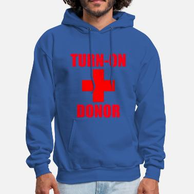 Turn On Turn-On Donor - Men's Hoodie