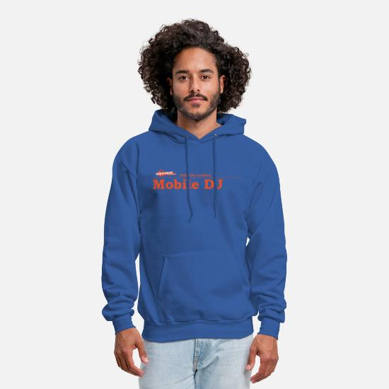 Dj Hoodies & Sweatshirts - Mobile DJ - Men's Hoodie royal blue