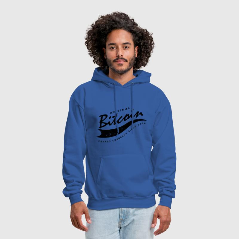 Bitcoin Baseball Logo Design - Men's Hoodie