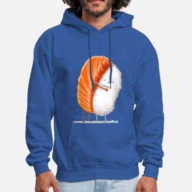 Food Sushi hug painting - Men's Hoodie