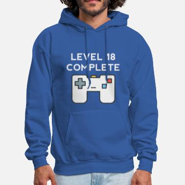 18th Birthday Level 18 Complete 18th Birthday - Men's Hoodie