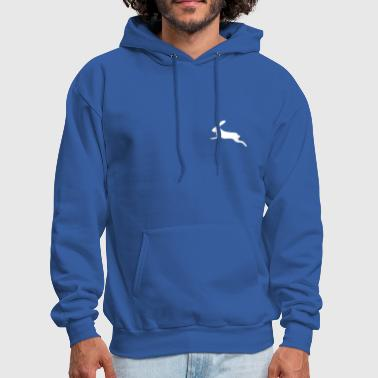 Hare rabbit bunny bunnies hare jackrabbit jump - Men's Hoodie
