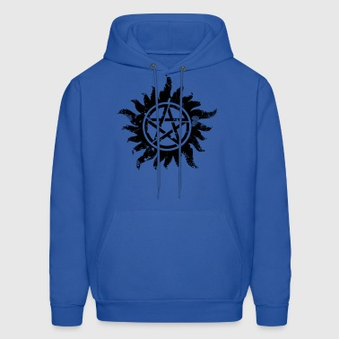 Anti-Possession Symbol Dark (Broken).png - Men's Hoodie