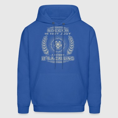 not a hobby calling job bestimmung fussball ultras - Men's Hoodie