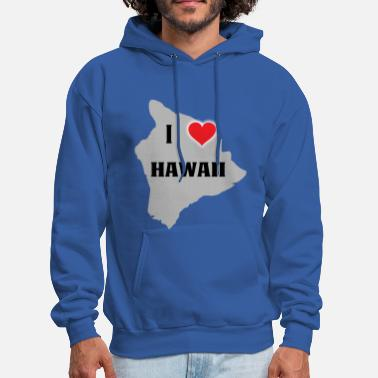 Honolulu I love HAWAII - Hoola for life - Men's Hoodie