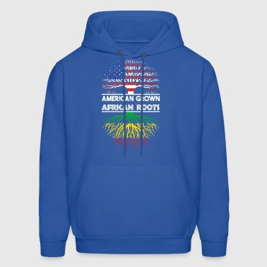 American Grown With African Roots T-Shirt - Men's Hoodie