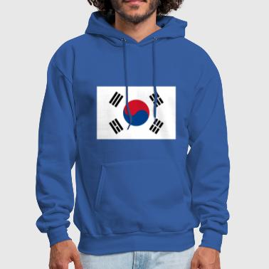 Korea South Korea Flag I Love South Korea - Men's Hoodie