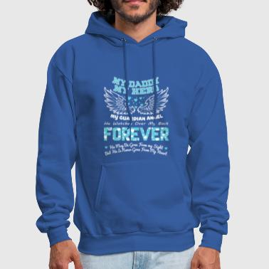 My Daddy My Hero My Guardian Angel T Shirt - Men's Hoodie