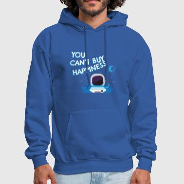 ASTRONOMY: You Can't Buy Happiness - Men's Hoodie