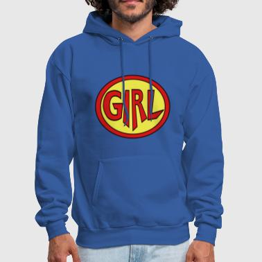 Super, Hero, Heroine, Super Girl - Men's Hoodie