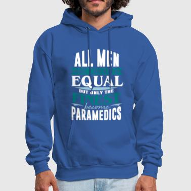 paramedic ambulance rescue gift idea job - Men's Hoodie