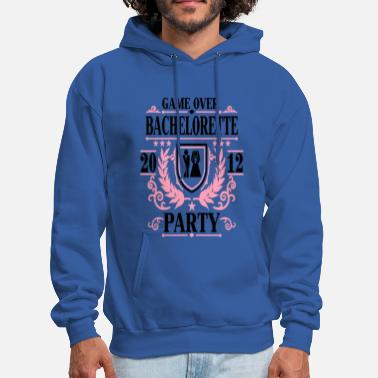 Bachelorette bachelorette party game over 2012 - Men's Hoodie