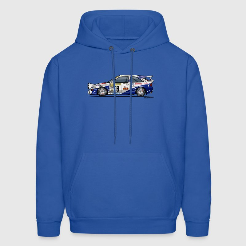Ford Escort RS Cosworth Rally Monte Carlo - Men's Hoodie