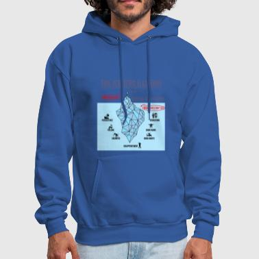 The Iceberg Illusion - Men's Hoodie