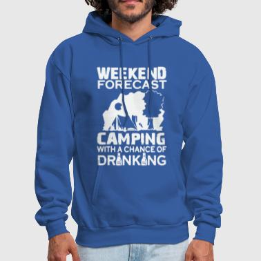 WEEKEND FORECAST CAMPING - Men's Hoodie