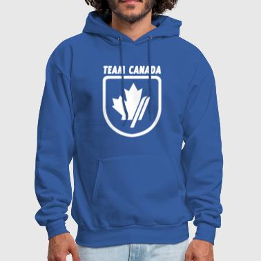 TEAM Canada Skiing Olympics Winter - Men's Hoodie
