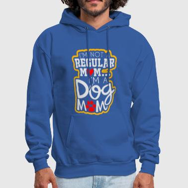 Dog Mom Dark Heather - Men's Hoodie