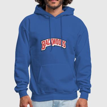 backwoods red white - Men's Hoodie