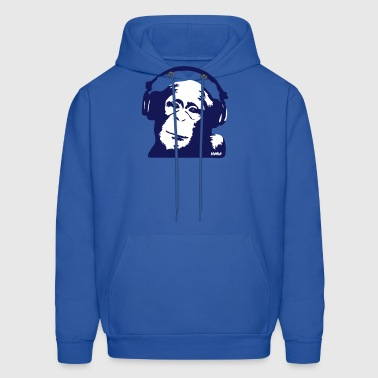 DJ Monkey (use Digital Direct) - Men's Hoodie