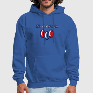 Rupee It's all about the rupees - Men's Hoodie