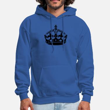 Keep Calm Crown Keep Calm Crown - Men's Hoodie