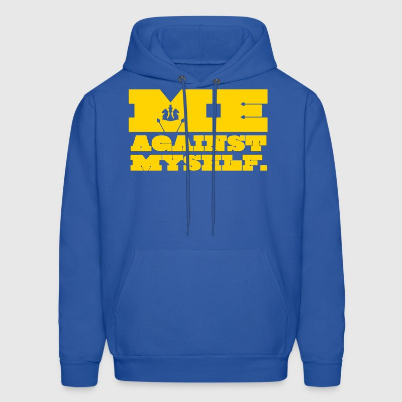Me Against Myself - Men's Hoodie