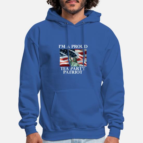 the latest 67bd6 4b971 Tea Party Patriot Zip Hoodie Men's Hoodie | Spreadshirt