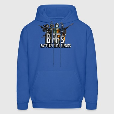 BFFs Battlefield Friends Hank & Jed - Men's Hoodie