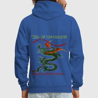 Tail Of The Dragon 4 Design - Men's Hoodie