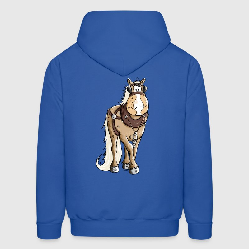 Happy Heavy Horse - Draft Horses - Men's Hoodie