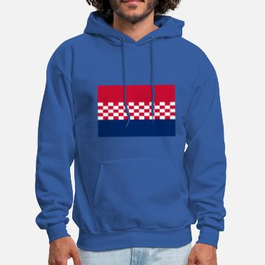 Usta flag croatia design - Men's Hoodie