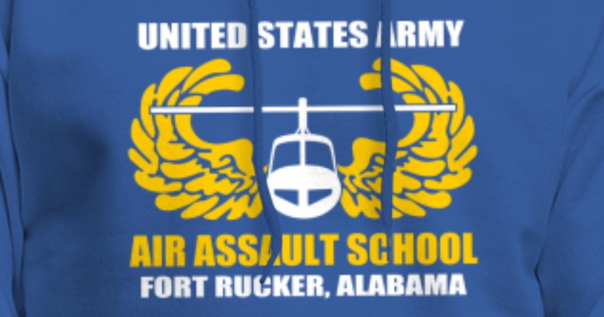 Air Assault Us Army Fort Rucker Alabama Men S Hoodie Spreadshirt