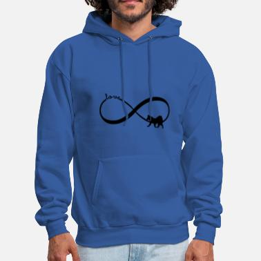 Infinity ♥ Elo Dog ♥ Infinity Sign T Shirt - Gift - Men's Hoodie