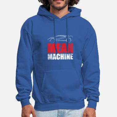 Racing Machine car mean machine fuel race - Men's Hoodie