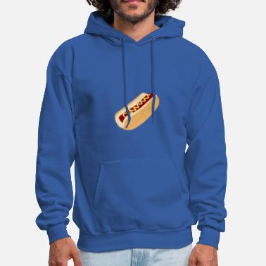 Hot Dog HOT DOG - Men's Hoodie