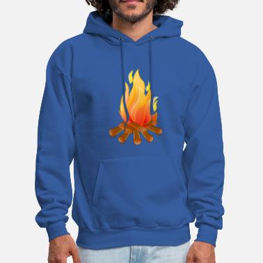Camp Fire camp fire - Men's Hoodie