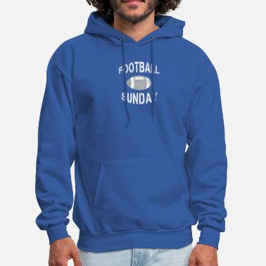 Sunday Funday Football Sunday - Football Gift - Men's Hoodie
