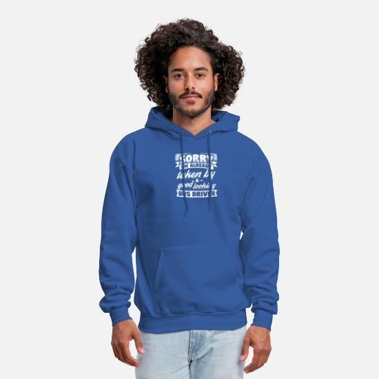 Bus Hoodies & Sweatshirts - Funny Busdriver Shirt Already Taken - Men's Hoodie royal blue