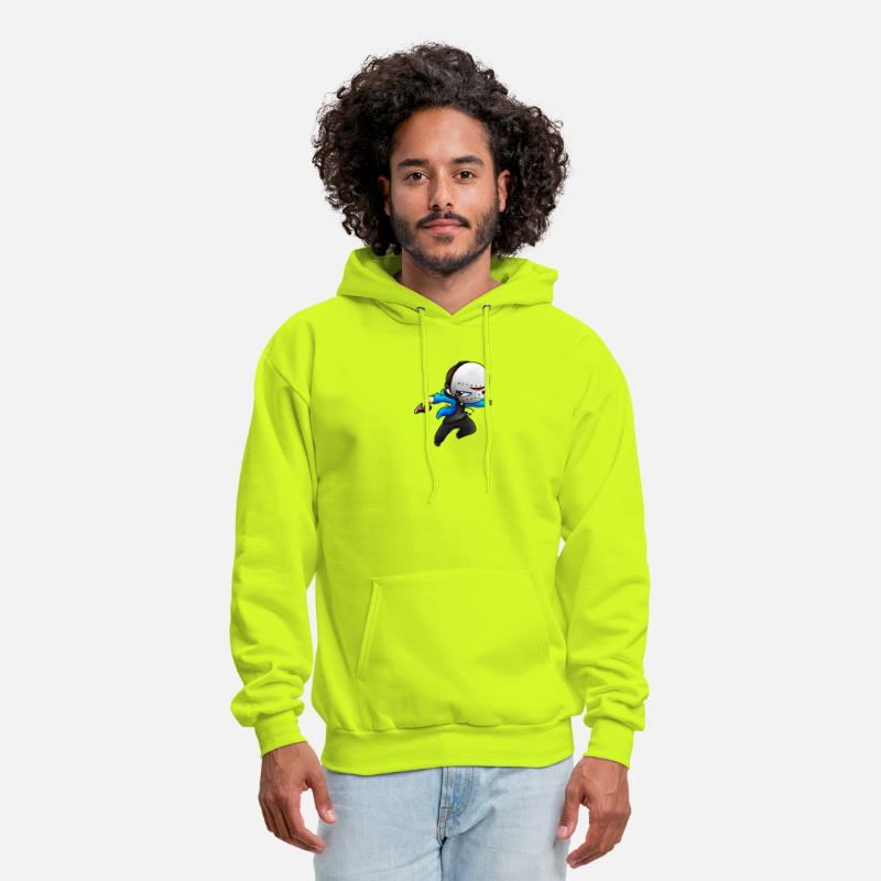 h2o delirious by brady Men's Hoodie - safety green