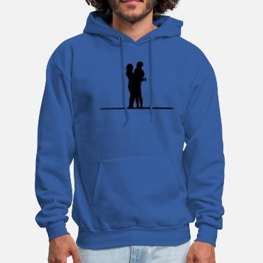 Quotes Couples couple - Men's Hoodie