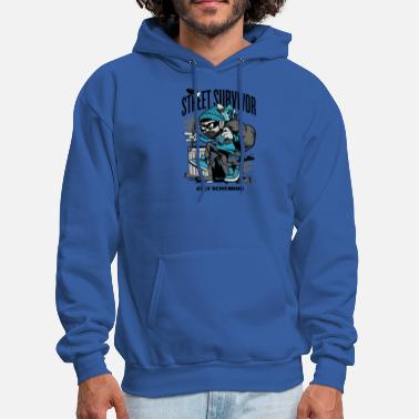 Street Surfer Street Survivor - Men's Hoodie