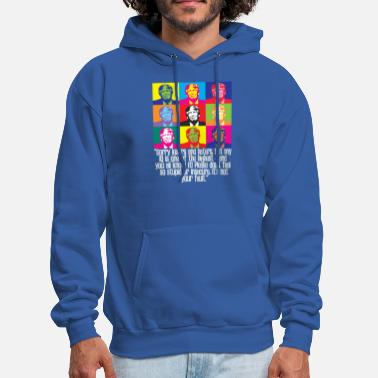 Loser funny trump quote huge IQ losers and haters pro anti president Donald maga - Men's Hoodie