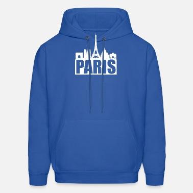 96a57c4ff Paris Skyline France Pride Frenchman Eiffel Tower Men's Premium T ...